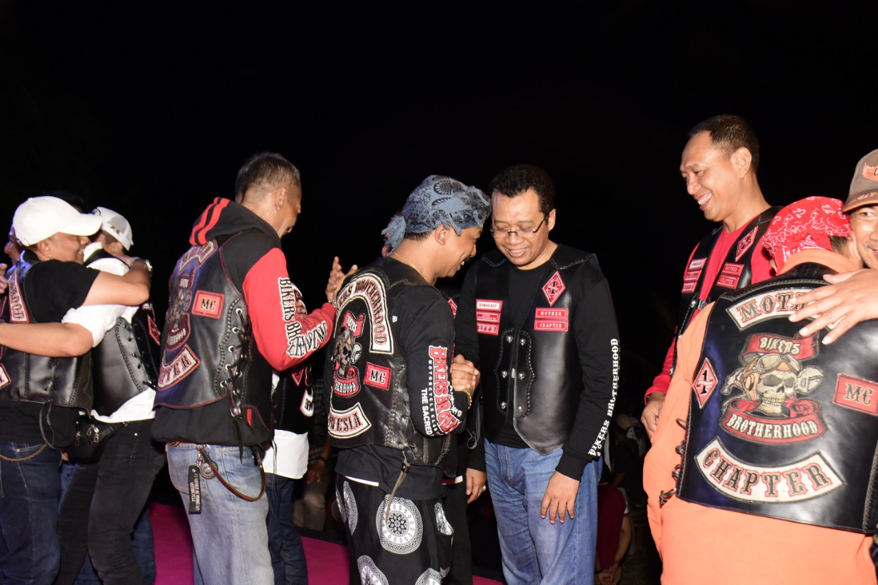 Gubernur NTB Jadi Anggota Kehormatan, Bikers Brotherhood Ingin Bantu Kebangkitan Pariwisata NTB